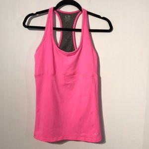Champion neon pink sport tank top